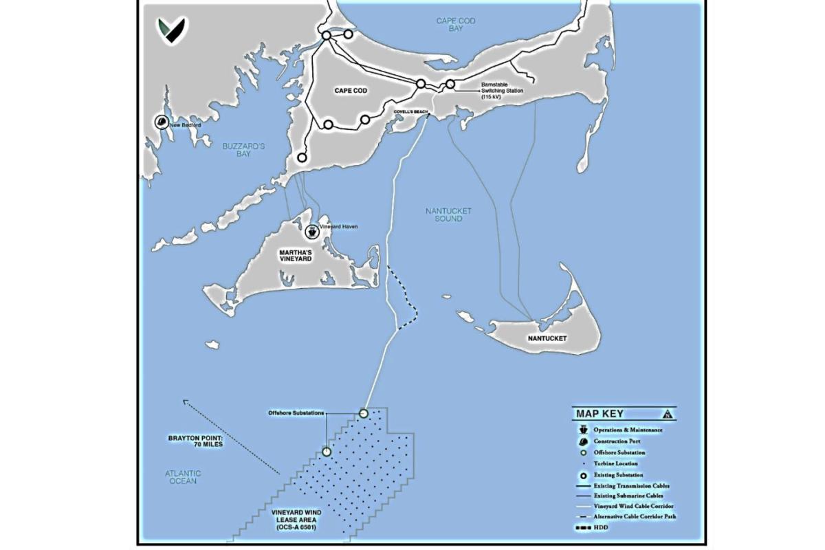 massachusetts-plattegrond