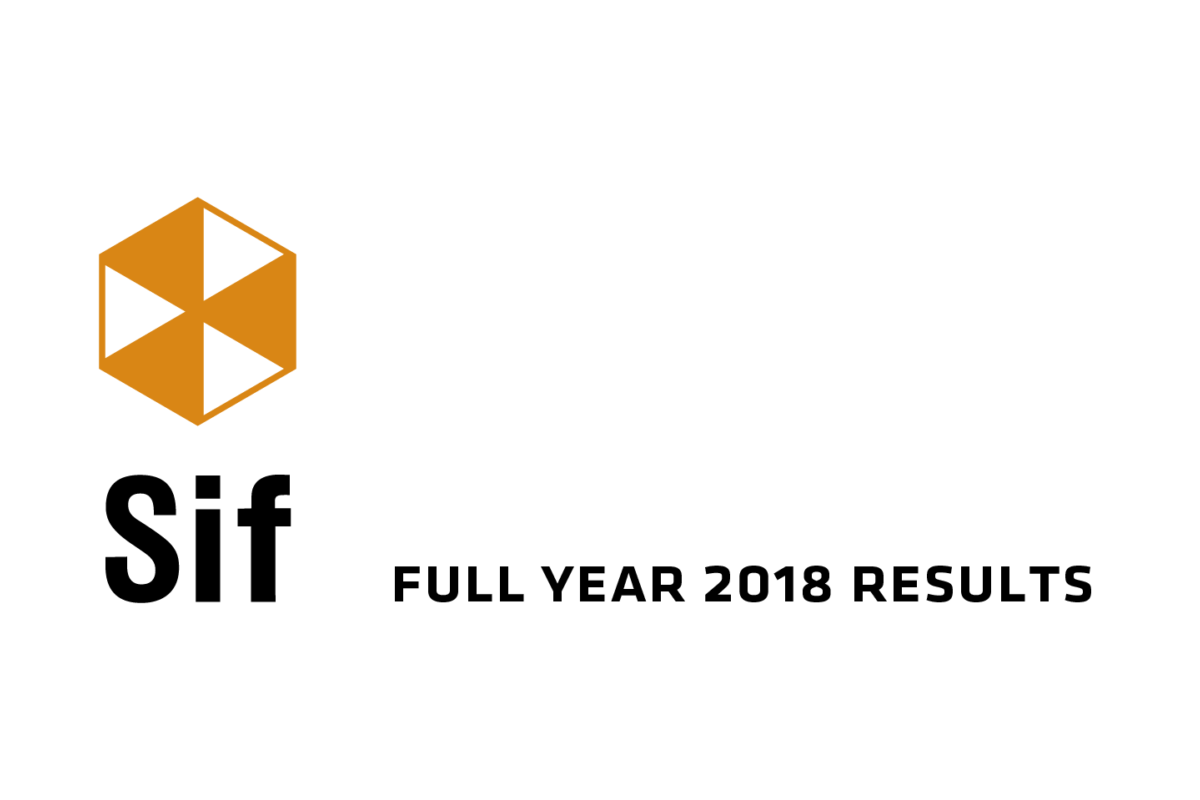 Sif logo full year 2018 results 03